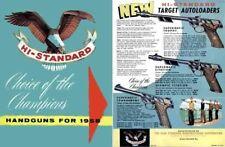 High Standard 1958 Handguns Catalog