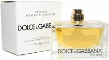 D&G The One By Dolce & Gabbana 2.5 oz EDP New in Tester Box Spray for Women -