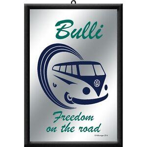 VW Volkswagen Bulli Bus T1 Freedom BAR Mirror 22 X 32 CM