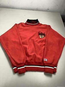 Men's Vintage The Game Chicago Blackhawks Sweatshirt Size M, Made in USA