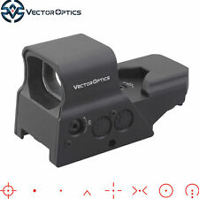 Vector Optics Omega Tactical 8 Reticle Red/Green Dot Sight Scope Solar Power g2