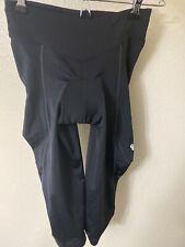Pearl Izumi Womens Padded Cycling Leggings Size Small Capri Length Black