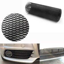 DIY 40''x13'' Car Black Aluminum Hexagonal Soft Grille Mesh Grill Can Be Cutted