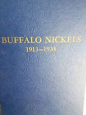 BUFFALO NICKELS 1913 TO 1938 INCLUDES 3-LEGGED BUFFALO