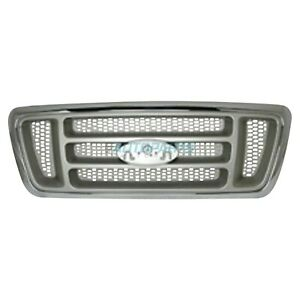 NEW GRILLE CHROME FRAME FITS 2004 FORD F-150 FO1200413