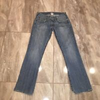 True Religion MENS 31 X 33 JEANS Distressed