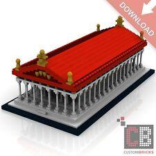CB Architecture Custom PDF Bauanleitung Parthenon Akropolis aus LEGO® Steinen
