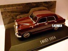 voiture 1/43 ixo altaya MERCEDES : 180 D 1954