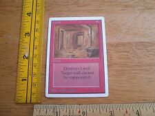 Tunnel red Magic The Gathering Unlimited MTG VF X1 card