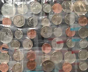 40 - Huge Mint Lot GEM BU 1960s - 1990s No Duplicates 40 Mint Coins