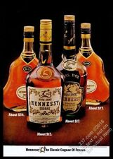 1974 Hennessy cognac XO Bras Arme Bras DOr Extra 4 bottle photo vintage print ad