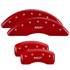 Mgp 4 Caliper Covers Red For 2018 2020 Jaguar F Pace 41112smgprd Fits Jaguar