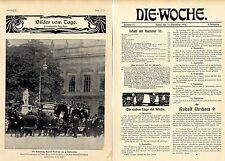 Rudolf Virchow necrologio importante Wiss. autorità Historical memorabilia 1902