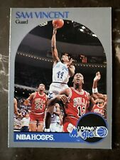 1990-91 Hoops #223a Sam Vincent NM-MT Michael Jordan Wearing Jersey #12 ID:923