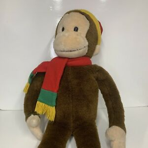 Curious George MACY's Limited Edition Large Plush Doll Monkey TV Cartoon