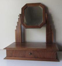 Antica specchiera con cassetto - Arredamento d'antiquariato- specchio