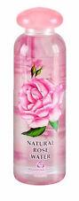 ROSE FLOWER WATER NATURAL BULGARIAN ROSA DAMASCENA FACE SKIN CLEANSE TONER 330ml