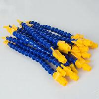 "12X 1/4"" PT Plastic Flexible Water Oil Coolant Pipe Hose Round & Flat Nozzle"