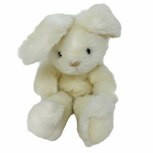 Vintage 1988 Gund Small White Bunny Rabbit Stuffed Animal Plush Toy Easter