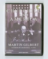 Churchill and America by Martin Gilbert - MP3CD - Audiobook