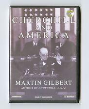 Churchill and America by Martin Gilbert - MP3CD - Audiobook