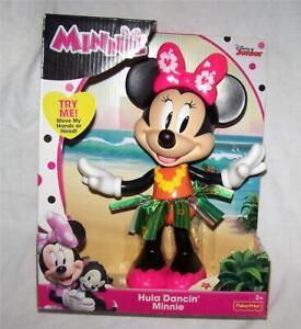 Minnie Mouse Hula Dancin Minnie, 2016 Fisher Price Disney Jr  Ages 2 yrs Up