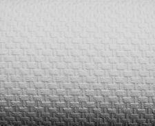 09666-10) 1 Rolle dicke Vinyltapete schneeweiß Tapete mit Glasfaser Optik