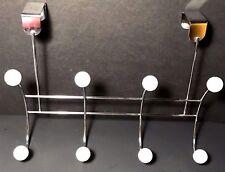 Elegant Over-The-Door 8-Hook Metal Hanger