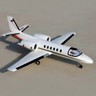 RC Airplane PNP Dynam Cessna 550 V2 1180mm Turbo Twin Motor 64mm EDF Fixed Wing