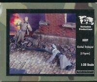 "Verlinden 1/35 German & Soviets ""Gotcha Staligrad"" 2 Figures WWII 2 Kit #2287"
