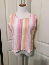 14693bcbb2095 Cabin Creek Women s Regular Striped Cotton Blend Tops   Blouses for ...