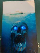SKULL JAWS  SOUND ACTIVATED FLASHING LED PANEL   1ST