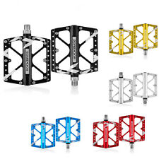 RockBros Mountain Bike Aluminum Bicycle Cycling Wide Pedals 3 Sealed Bearing