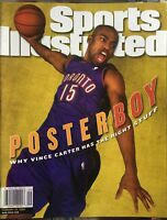 February 28, 2000 Vince Carter Toronto Raptors Sports Illustrated NO LABEL