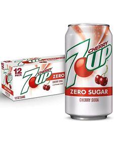 7-UP Zero Sugar Cherry Soft Drink