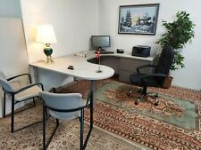 Executive Kimball Office U Shaped Desk