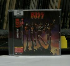 Used SHM-CD Kiss Destroyer 2008 Mercury Japanese Import Remastered UICY-93655