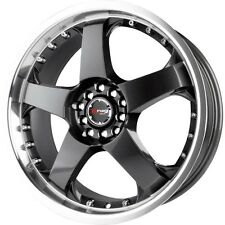 1 New 17X7 40 Offset  5x100/5x114.3 DRAG DR-11 Gun Metal Wheel/Rim 17 Inch