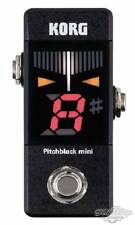 Korg Pitchblack Mini PB01MINI Black Pedal Tuner Japan