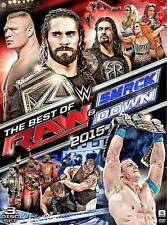 WWE: THE BEST OF RAW AND SMACKDOWN 2015 NEW DVD