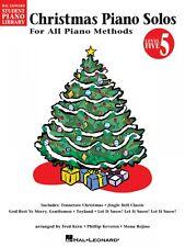 Christmas Piano Solos Level 5 Hal Leonard Student Piano Library Edu 000296146