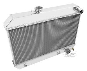 1962 1963 Buick Skylark 3 Row All Aluminum Champion Radiator DR