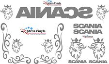 Scania truck sticker MEGA PACK glass and body fitment vinyl cut graphics