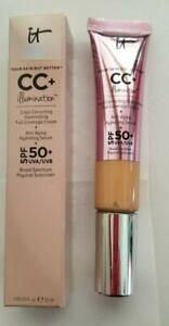 IT Cosmetics Your Skin But Better CC+ Cream SPF 50+ Full Size 1.08 oz MEDIUM