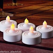 Premier 6 x Flickering LED tea lights, Christmas lights decorations