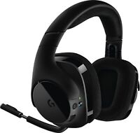 Logitech G533 Wireless Gaming Headset, Black 981-000632