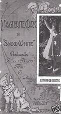 Snow White 1916 Silent vintage movie poster