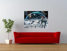 STAR WARS EMPIRE STRIKES BACK BATTLE SCENE GIANT ART PRINT PANEL POSTER NOR0643