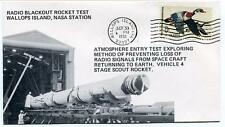 1970 Wallops Island ROCKET TEST Vehicle 4 Radio Blackout WFF Goddard Base NASA