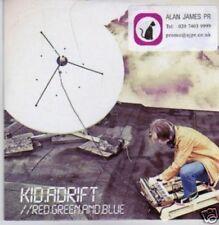 (645X) Kid Adrift, Red Green & Blue - DJ CD